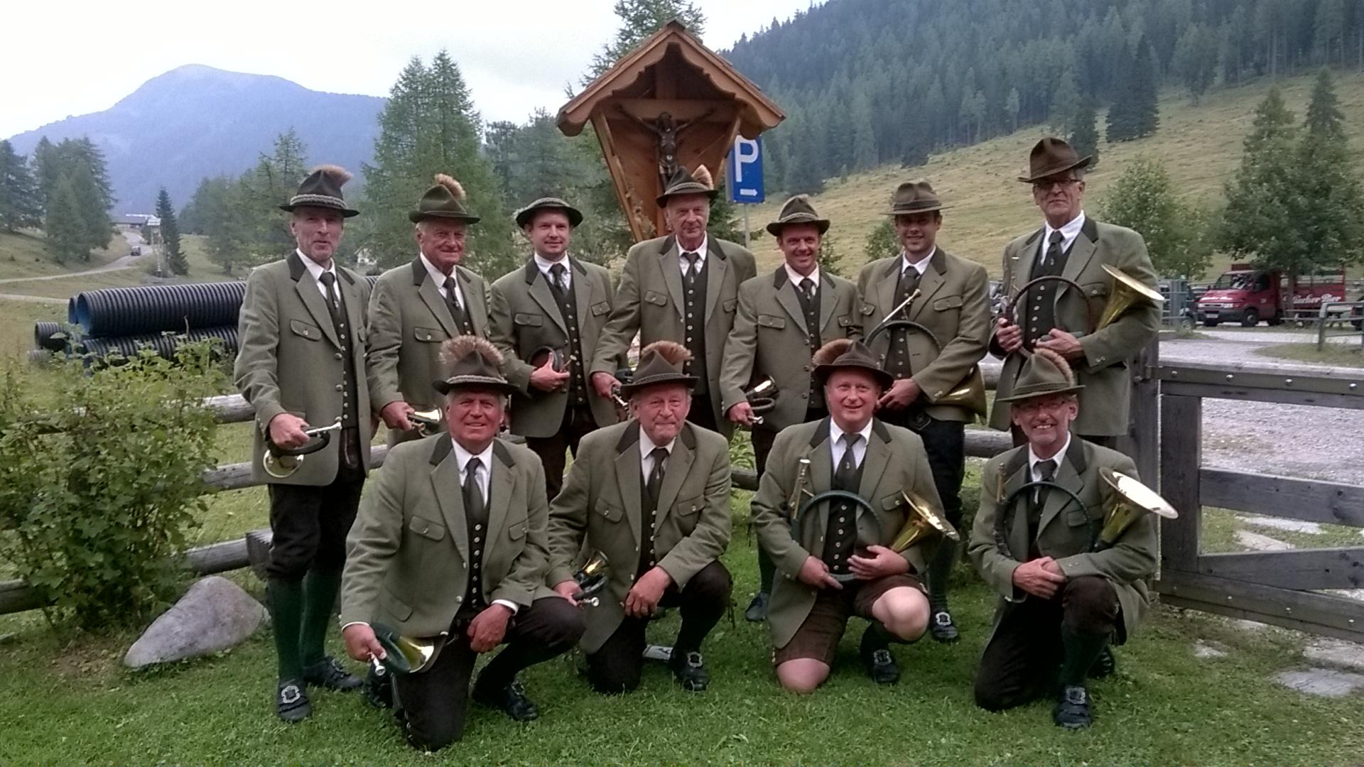 Jagdhornbläser Gruppe Poludnig 2016
